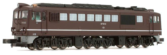 Diesel >> アリイ マイクロエース DF50-2/6茶色長野機関区重連セット
